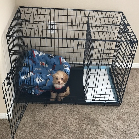 Other Puppy Apartment Top Paw Dog Crate For Training Poshmark
